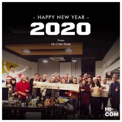 HI-COM祝您新年愉快!并在1月份开设法国办事处!